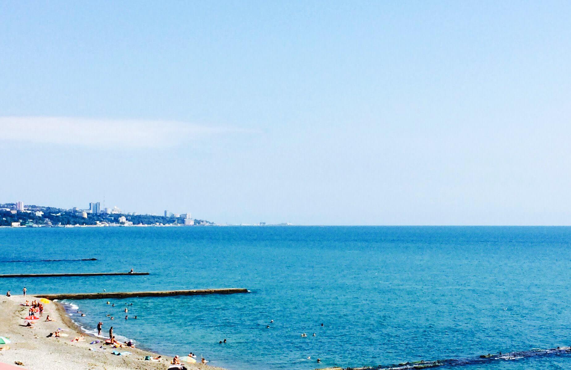Пляжи в Сочи - Пляж73-й километр