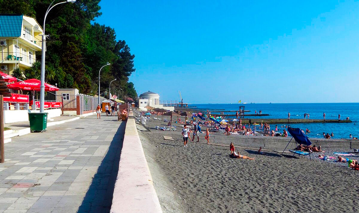 Пляжи в Сочи - Пляж Альбатрос