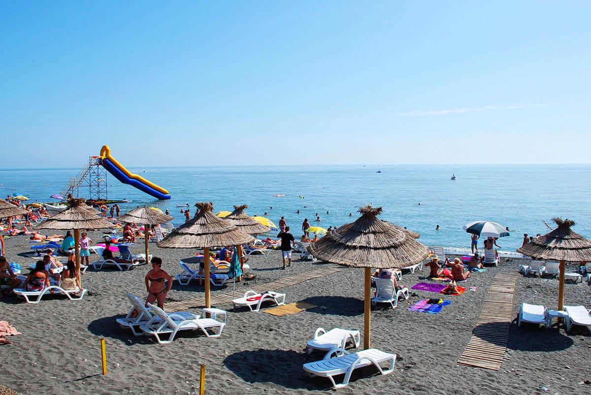 Пляжи в Сочи - Пляж Чайка