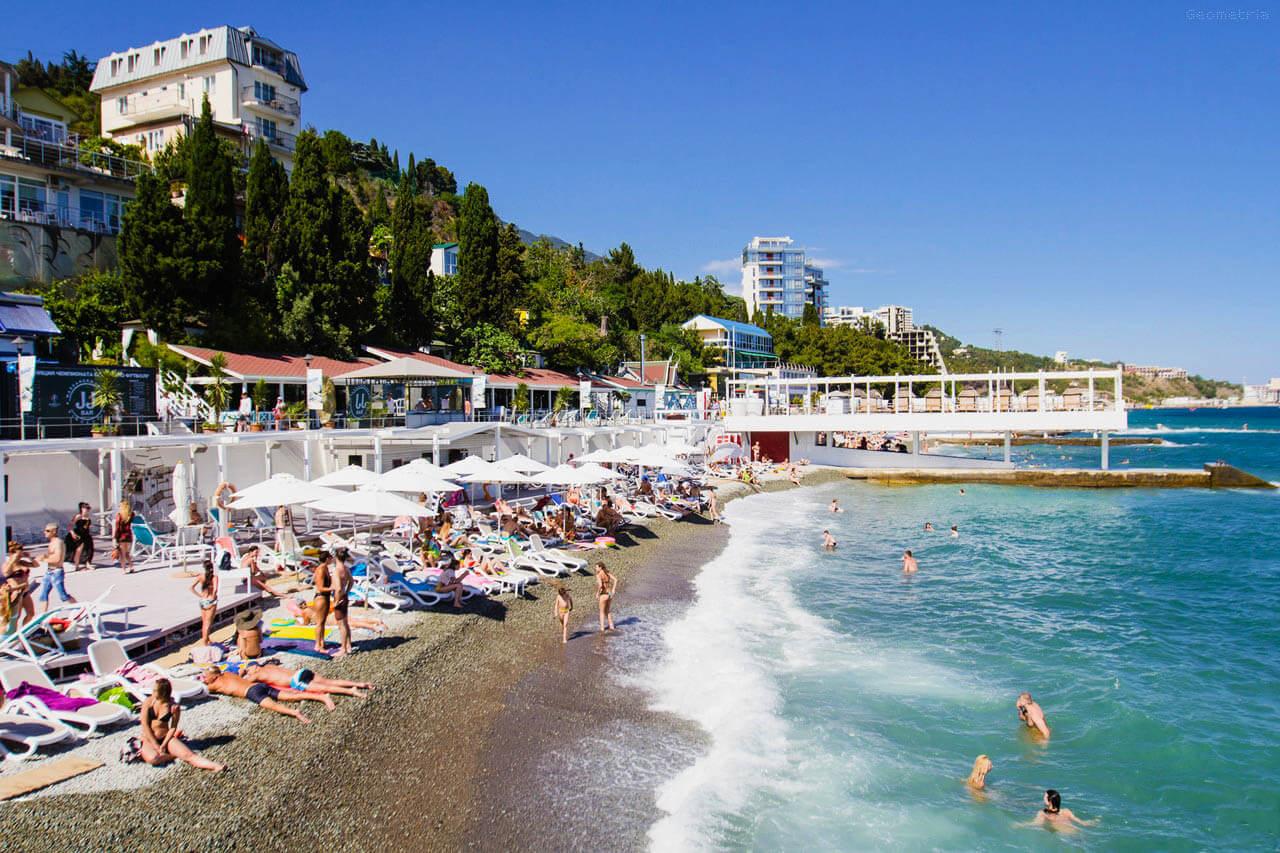 Пляжи в Сочи - Пляж Искра