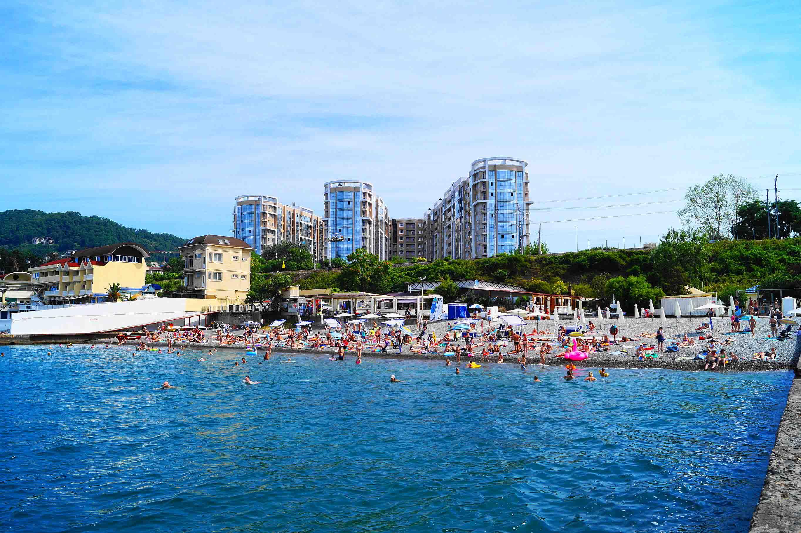 Пляжи в Сочи - Пляж Русалочка