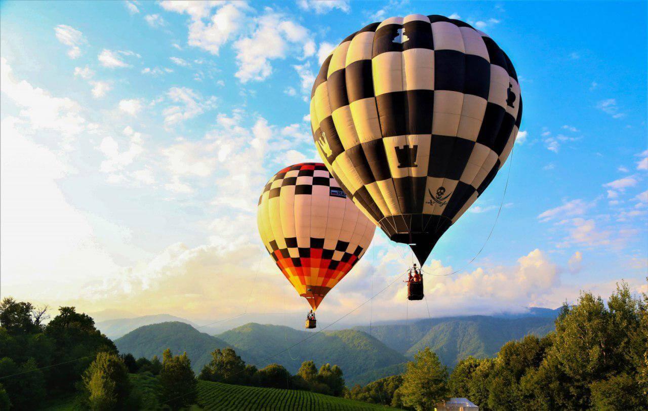 Фестиваль воздушных шаров Солохаул парка